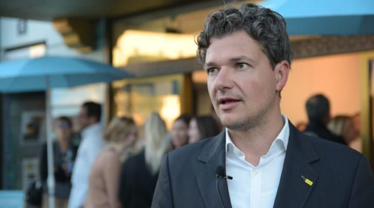 Der Villacher Stadtrat Peter Weidinger fieberte heute in Klagenfurt den ersten Ergebnissen entgegen