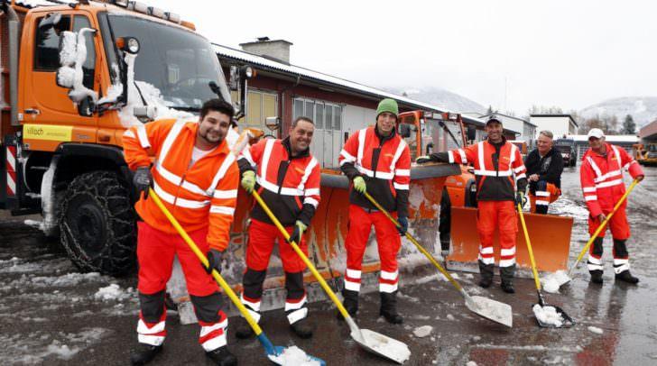 Die Teams unseres Wirtschaftshofes sind bereit für den Wintereinsatz.