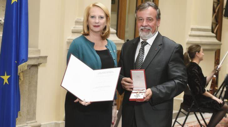 Von links: Nationalratspräsidentin Doris Bures, Nationalratsabgeordneter Hermann Lipitsch