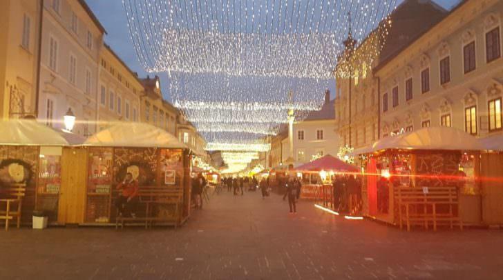 So sieht es heute in Klagenfurt aus. Schön, oder?