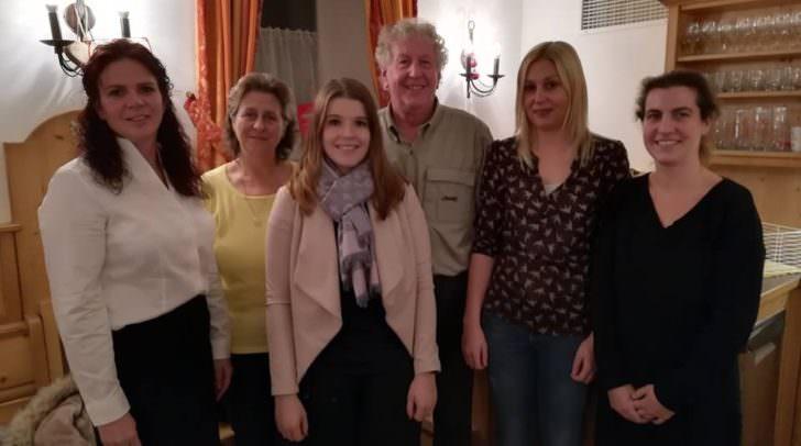 Der neue Vorstand der Kinder- und Jungendvolkstanzgruppe Villach.