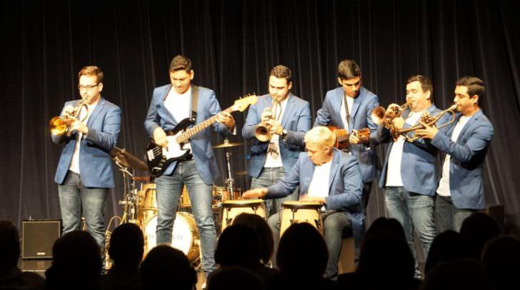 Mit exotischen Rhytmen und musikalischer Perfektion sorgte das Venezuelan 7/4 Ensemble für Standing Ovations.