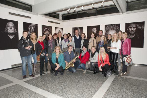 Die Unternehmerinnen waren begeistert von der Vielfalt der Bilder und den persönlichen Anekdoten von Gernot Gleiss.