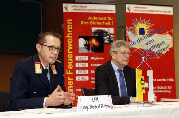 """Kaiser: """"Ich bin sehr stolz auf Kärntens Feuerwehren, diese Organisation gibt abseits von allen Statistiken vor allem ein Schutz- und Sicherheitsgefühl, das nicht selbstverständlich ist"""""""