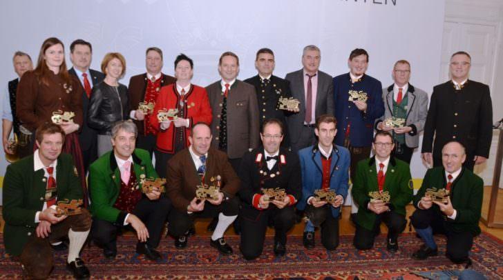 Gruppenfoto mit allen Obmännern