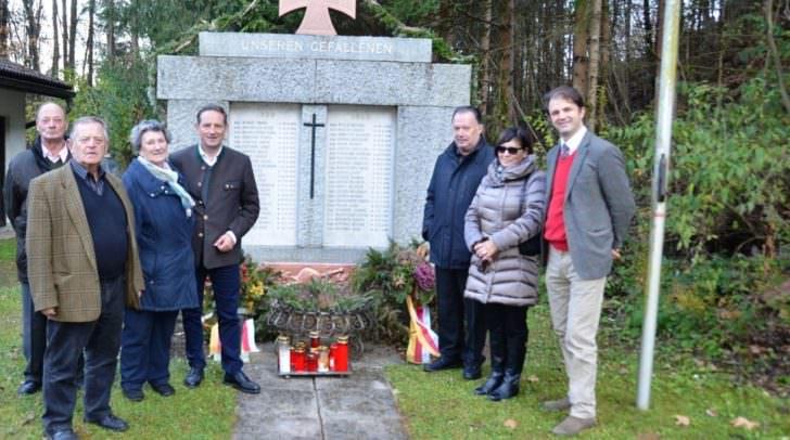 Kriegerdenkmal in Gurnitz saniert.