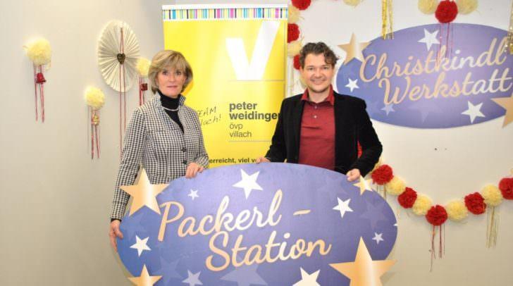 Christine Mirnig und Peter Weidinger