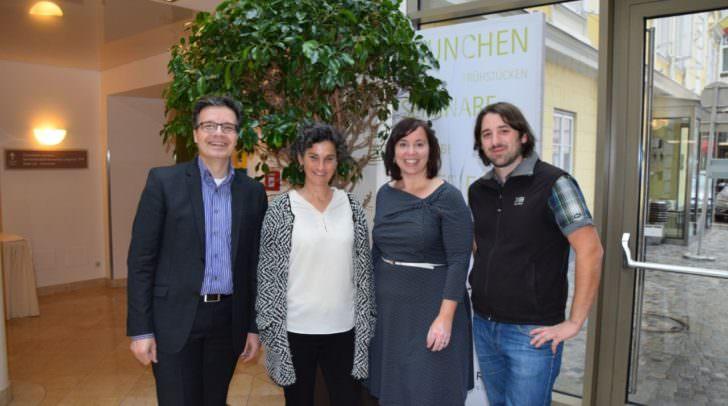 v.l: Wolfgang Leitner, Karin Ruppert, Marion Mitsche, Thomas Winter-Holzinger