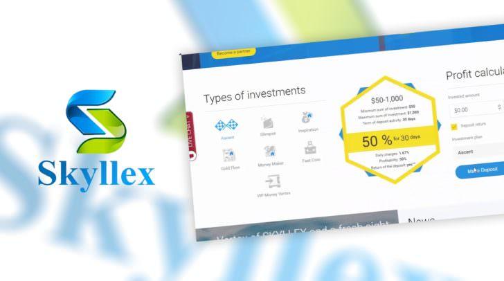 Skyllex Auszahlung