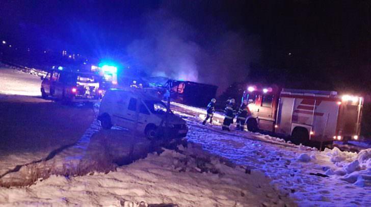 Mehrere Feuerwehren stehen derzeit im Einsatz