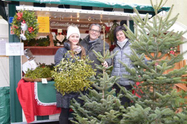Projektktverantwortliche Kathrin Hassler, Stadtmarketing-Chef Gerhard Angerer und Karin Baumgartner