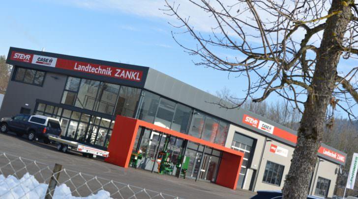Das Areal von Zankl Landtechnik im Klagenfurter Klatteweg.