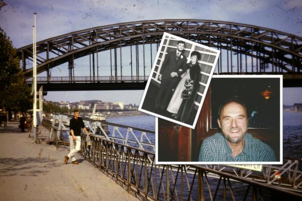 Andrew Rogers mit seiner Frau Lynda