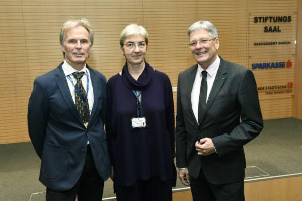 43. Linguistiktagung; Dr.Günther Sigott, Dr. Ursula Doleschal, LH Dr. Peter Kaiser