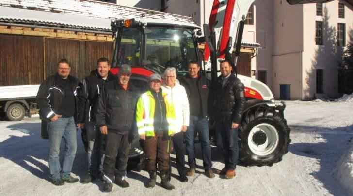 Der neue Traktor soll den Alltag der Gemeinde Bad Bleiberg erleichtern.
