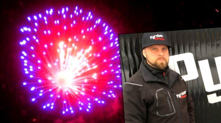 Andreas Sitter von der Firma Pyrotec Feuerwerke ist zu Silvester Villachs