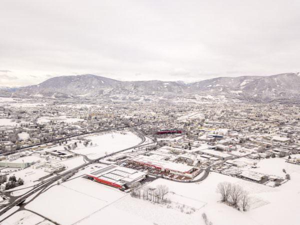 Winterwonderland in Villach