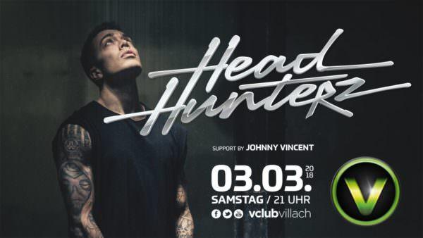 Headhunterz LIVE – Support by Johnny Vincent im V-Club Villach