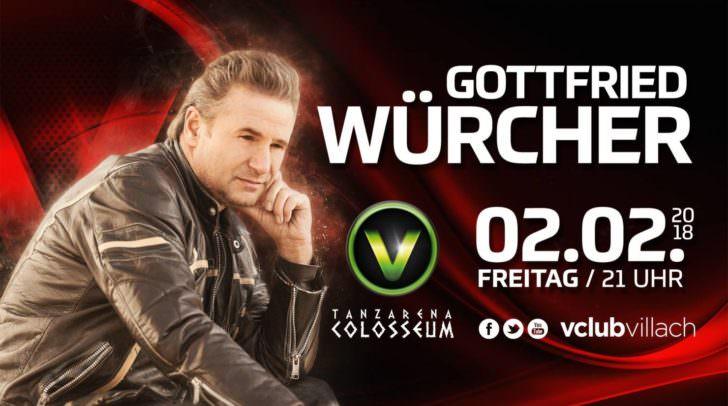 Gottfried Würcher kommt ins Colosseum