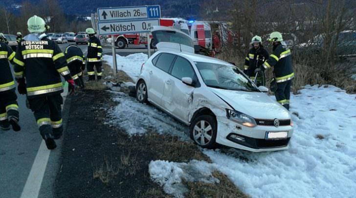 Drei Verletzte bei Autounfall in Nötsch in Nötsch - 5 Minuten ...