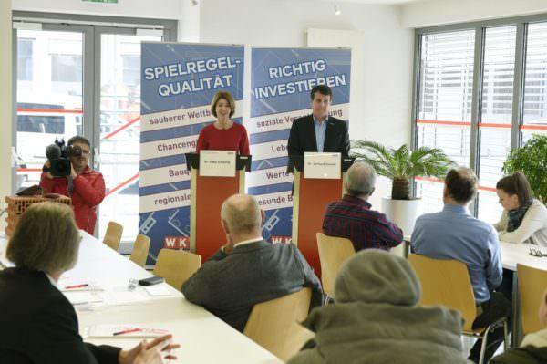 """Pressekonferenz """"4 Jahre, 8 Baugipfel"""""""