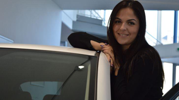 Biljana Pecic von Auto Eisner Villach ist selbst leidenschaftliche Mazda-Fahrerin