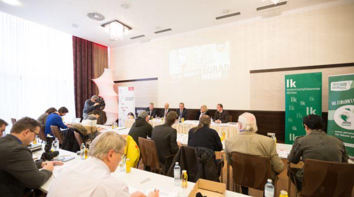 Jahrespressekonferenz der Kärntner Messen 2017