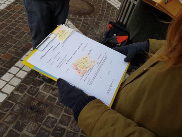 100 Unterstützungserklärungen je Wahlkreis werden gebraucht