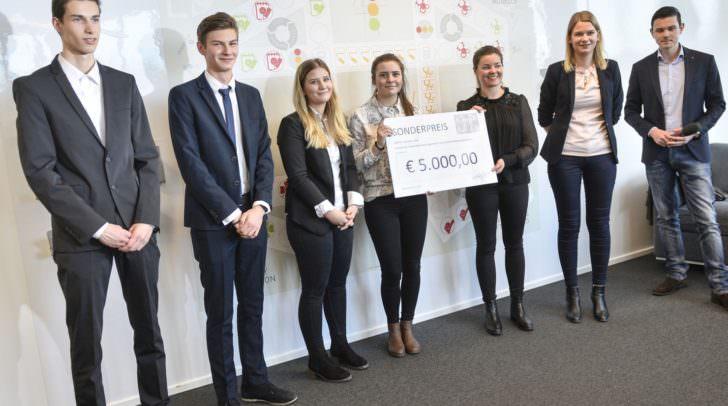 Geschäftsmodell Pitch, Schülergruppe der HAK Spittal und Studierende der Alpen-Adria Universität Klagenfurt
