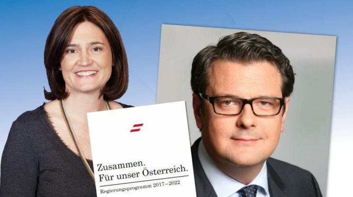 Nationalrat Wendelin Mölzer informiert über das neue Regierungsprogramm. Beim Stammtisch mit dabei ist auch die Villacher Wahlkreiskandidatin für die Landtagswahl Elisabeth Dieringer-Granza.