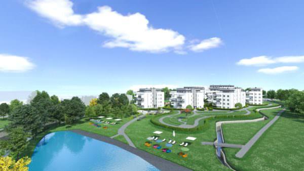 Die Plakataktion spiegelt auch Eigenschaften der Wohnungen wider: Energieeffizienz und Umweltfreundlichkeit