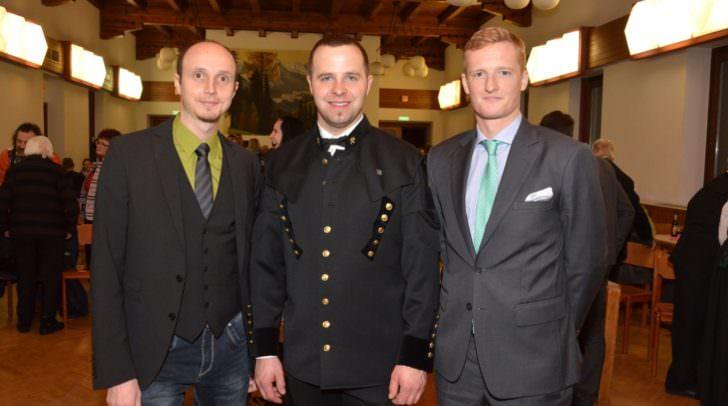 v.l.n.r.: Vizebürgermeister Thomas Michenthaler, Bürgermeister Christian Hecher, Mag. Johannes Eder (Humanomed)