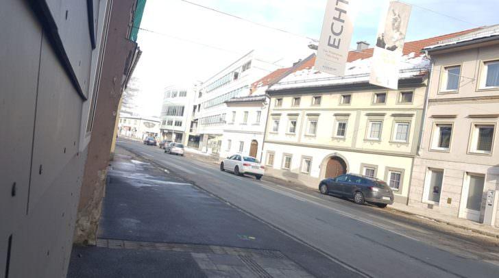 Von 12. Februar bis voraussichtlich Ende Mai wird es in der St. Veiter Straße zu Verkehrsbehinderungen kommen.