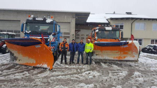 Safet Sajo Budimlic, Daniel Jury, Jakub Hasic und Rene Gajsek