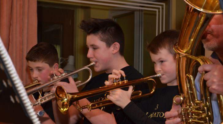 Schüler der Musikschule