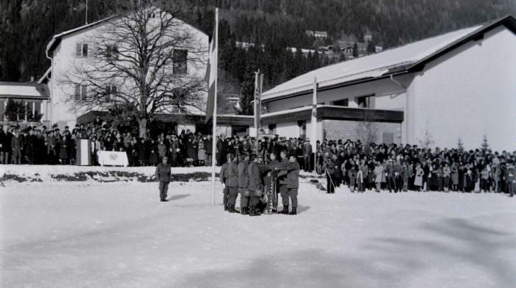 Angelobung Greifenburg 1981
