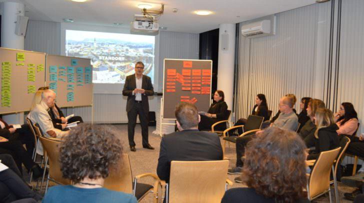 Stadtmarketing Unternehmer-Workshop im CCV