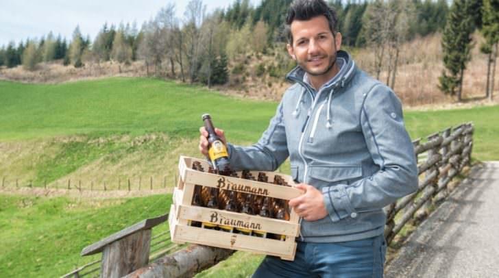 Manfred Baumann war fasziniert von der Bierherstellung und ist damit nun selbstständig