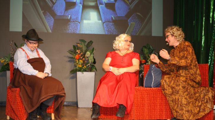Der Auftritt von Monika Koman, Cornelia Novak und Jürgen Ladinig wurde mit großer Begeisterung und Standing Ovations belohnt.