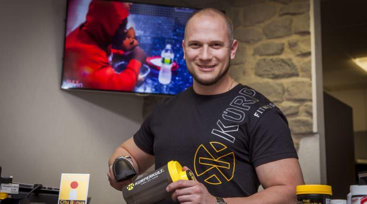 In guten Händen: Markus Schuster, Inhaber von Körperkult