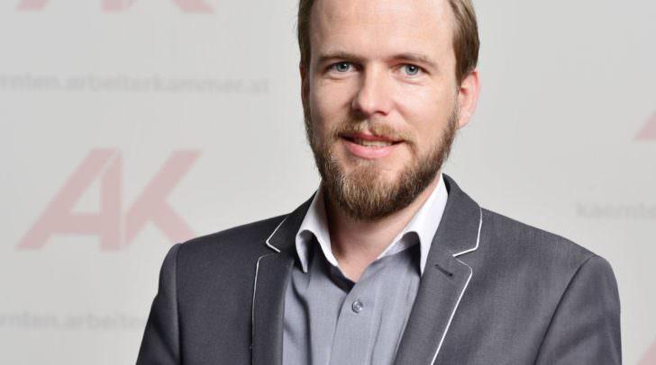 AK-Konsumentenschutzexperte Mario Drussnitzer kritsiert die hohen Sollzinssätze im Vergleich zu den minimalen Habenzinssätzen.
