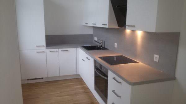 Für das Team der Topmiete ist eines klar: Eine Wohnung soll auch gleich die entsprechende Küche beinhalten – die ist fast immer mit dabei!