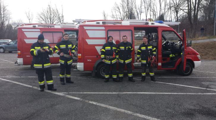 Atemschutzträger der Feuerwehr St. Egyden