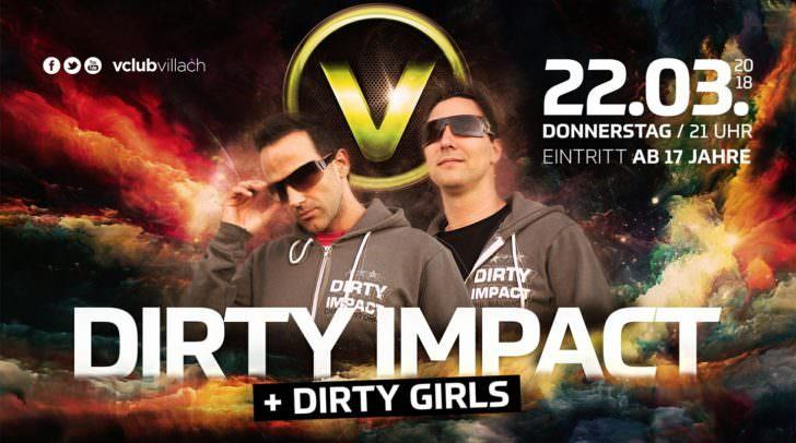 Dirty Impact Live im V-Club Villach: Der perfekte Einstieg ins Wochenende