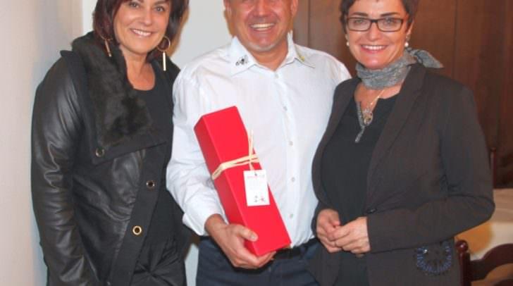 Villachs Vizebürgermeisterin Petra Oberrauner, KSMG-Obmann Harald Baumgartner und Landeshauptmannstellvertreterin Beate Prettner.