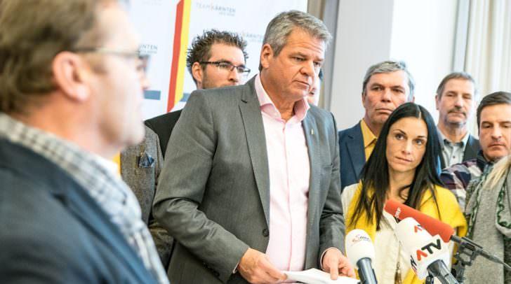 Gerhard Köfer, Team Kärnten fordert eine Nulllohnrunde für Politiker angesichts der Corona-Krise.