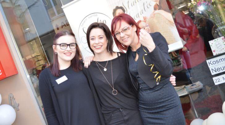 Das Team des Studio beautée Nicole Herpe, Janine Skof und Silke Lederer-Wabnegg