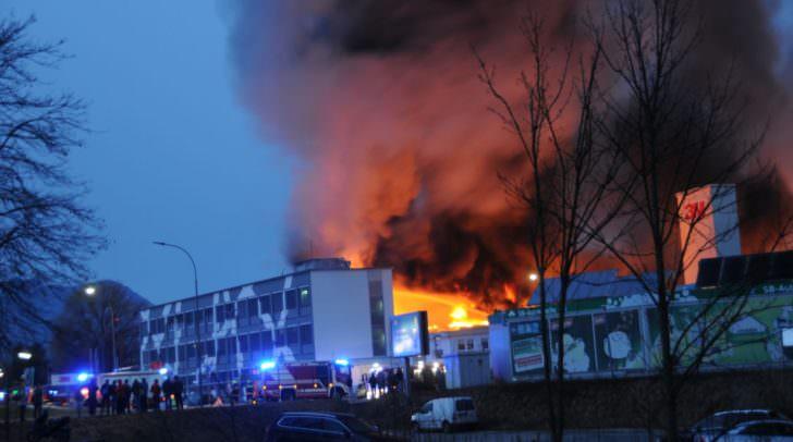 Erste positive Signale nach dem Großbrand: Ein Wiederaufbau wird angestrebt