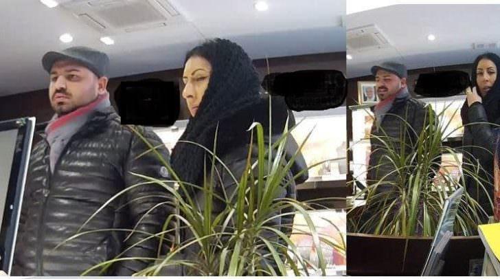 Diese zwei Personen betrogen im Februar den Villacher Juwelier indem sie ihm den falschen Schmuck aushändigten.
