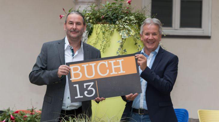Gerald Eschenauer von BUCH13 und Musikschuldirektor Günter Wurzer sind davon überzeugt, dass es ein großartiger Abend für Jung und Alt wird.